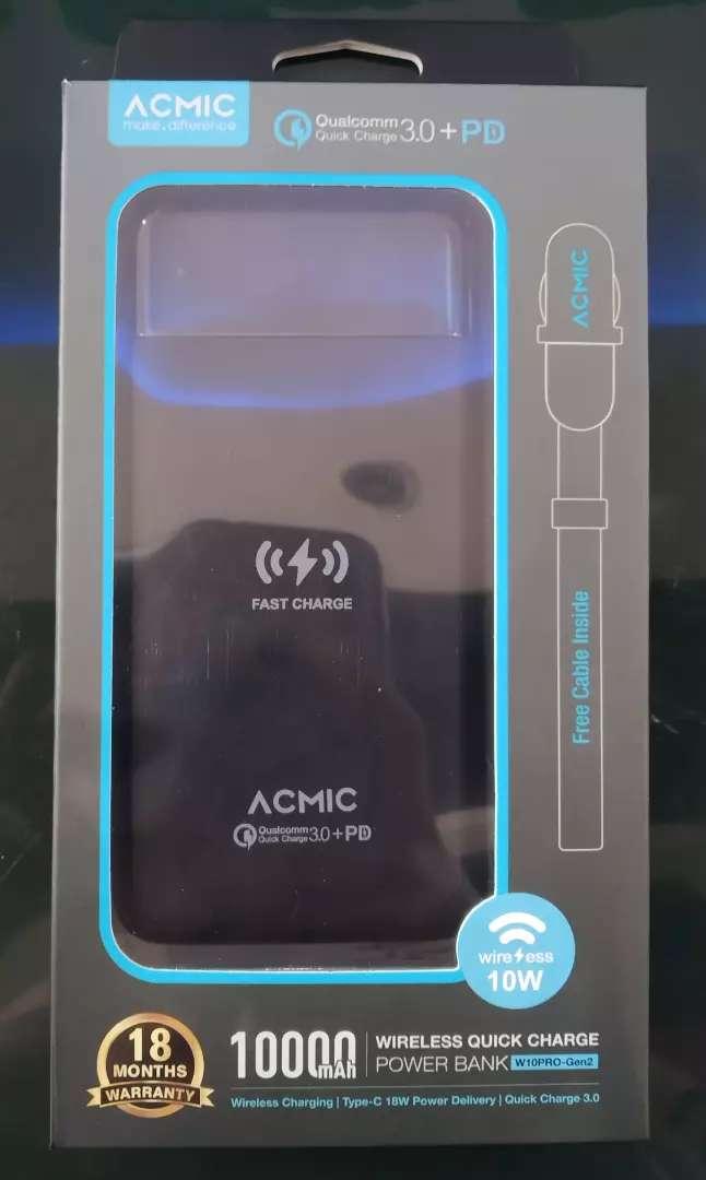 Powerbank Wireless Quick Charge ACMIC W10Pro-Gen2 0