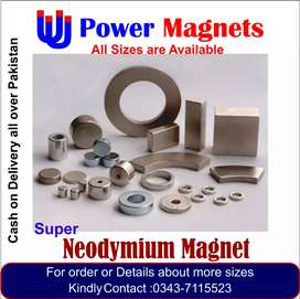 All sizes of Neodymium Magnets are available now at discounted price