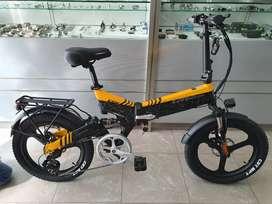 Sepeda Lipat E-Bike Lankeleisi G650