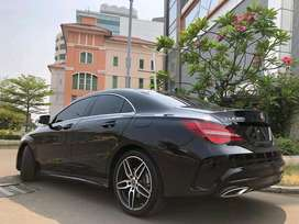 CLA200 Sport AMG 2019 Black Km1000 Saja Panoramic Sunroof ISP3Thn