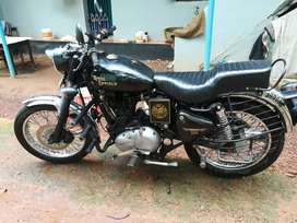 ROYAL ENFIELD FOR SALE, GULF MAN VEHICLE, less use only 2000 km
