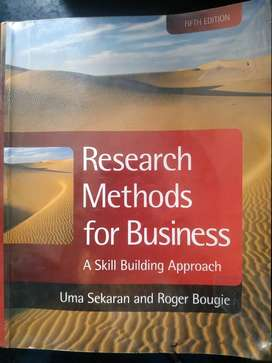 Research Methods for Bussiness fifth edition