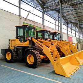 Wheel Loader Tangguh di Balangan Bergaransi No PPN Ready Stock