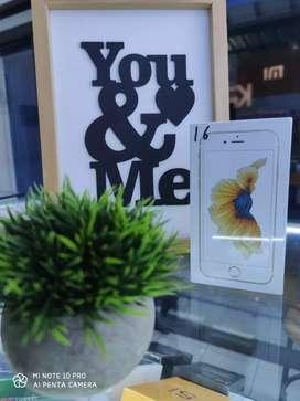 New iphone 6s 16 GB bergaransi 1 tahun. Murah !!!