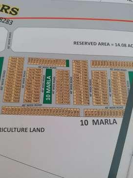 250 gaj plot Facing Park Block-H,Aerocity Mohali.