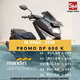 Yamaha n max THN 2018 Cash kredit gan