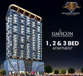GM icon bahria presented 36 months installement project with merging