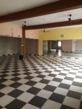 Hall for office gym and dance class