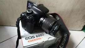 Dijual Canon 600D fullset murah