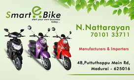 SMART BIKE dealer ship in India