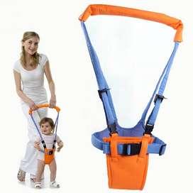Alat Latihan Jalan Bayi Baby Moon Walker Assistant Harnesses - Orange