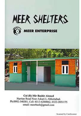 Meer Earthquake Proof Shelter
