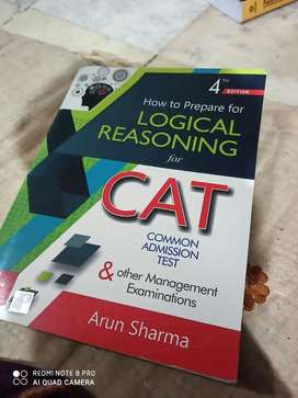 Logical Reasoning for CAT by Arun Sharma