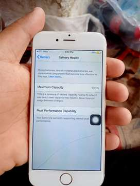 iPhone 6 sell and exchange 100% battery health hy