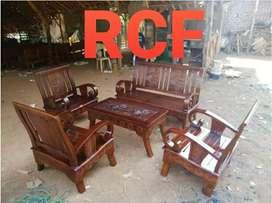 Kursi sofa tamu kayu jati 031