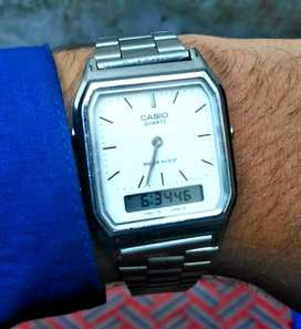 Casio Made in Japan 100% original Double time