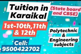 Tuition and courses Training in Karaikal