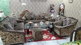 Home made sofa set and dinning set with 6 chairs