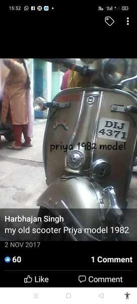 Priya two wheeler
