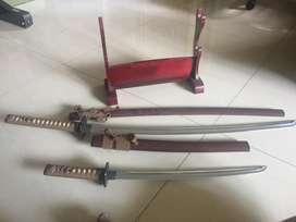 jual samurai hiasan asli jepang