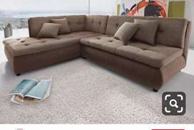 Top Level Design L shape sofa with 5 years of warranty