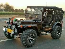 Hunter modified jeeps