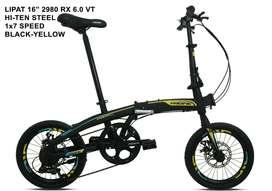 Sepeda Lipat Pacifik 2980 RX 6.0