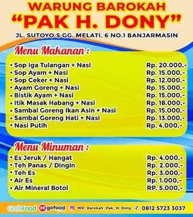 Wr Barokah Pak H.Dony