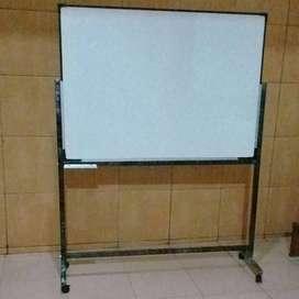 papan tulis standing 120x180cm