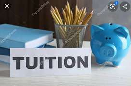Tutions for all subjects