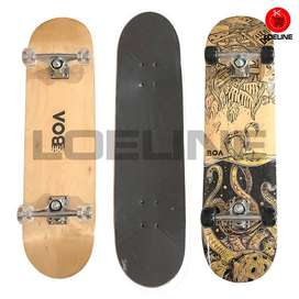 Skateboard Asli Original Canadian Maple Murah Bagus - Polos  ID36