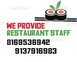 Staff Available- For Restaurant, Hotel, Kitchen Staff, Cook, Helper,