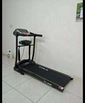 #Grosir - Treadmill Elektrick 2 Fungsi TL246 Best Kualitas // Cod Bisa