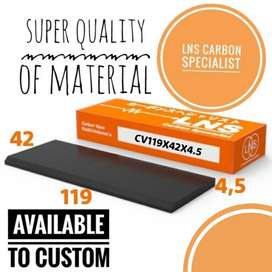 Carbon Vane 119x42x4.5mm Bisa Custom