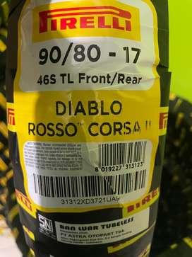 Pirelli diablo rosso corsa ll 90/80-17