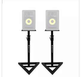 Studio Monitor Speaker Stand pair only 1 month old very good condition