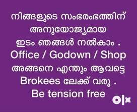 All type of Commercial space in Calicut