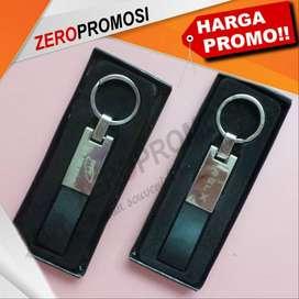 Souvenir Gantungan Kunci Kulit Metal Custom GK-A06