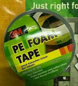PROMO - double tipe 3 m pe foam tape original 24mmx4m