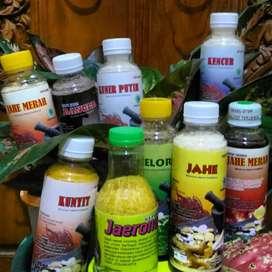 Jamu herbal banyak varian tinggal seduh
