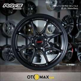 Velg Mobil Rays DH3005 Ring 15 Matte Black