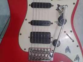 Fender stratocaster scalloved neck