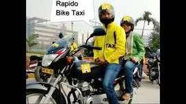 bike taxi jobs Rapido