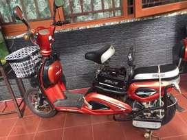 CUCI GUDANG LELANG Sepeda Listrik Selis tipe Murai yg tertinggi