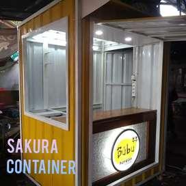 Booth kue, container usaha, booth bazzar, booth makanan, booth jualan