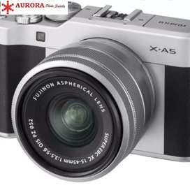 Fuji xa5 kit lens 15-45mm full set bonus