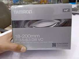 Tamroon 18-200mm for Nikon Or Canon one year warranty
