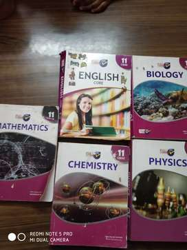 Text books and Guide for std 11 for CBSE
