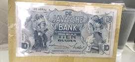 Uang wayang 10 gulden