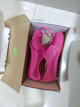 Pink all season shoes